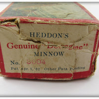 Heddon Empty Box For Red or Blended Red Spindiver