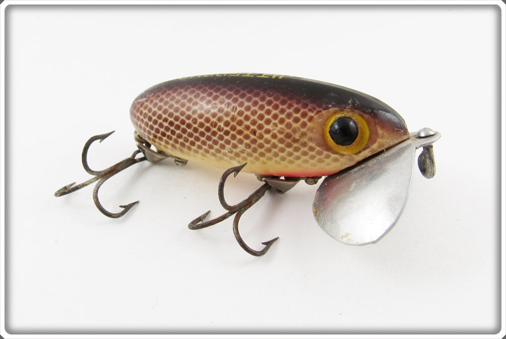 Arbogast Brown Scale Jitterbug