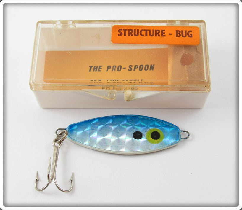 Vintage Pro Line Tackle Pro-Spoon Structure Bug Lure