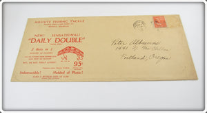 1942 Millsite Fishing Tackle Envelope