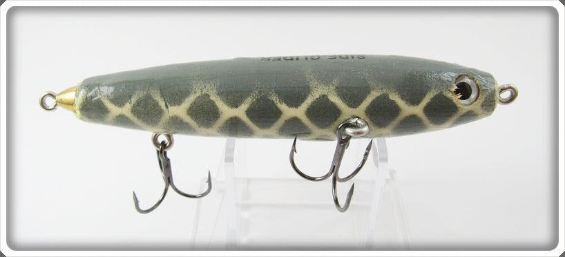 Side Stepper Bait Co Grey & White Side-Glider Lure