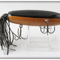 Side Stepper Bait Co Black & Gold Swishtail Lure