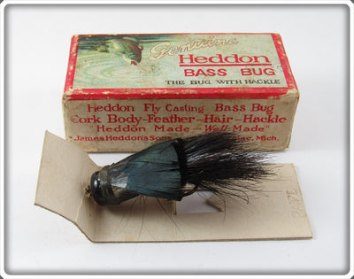 Vintage Heddon Ozark Ripley #57 Bass Bug Fly Rod Lure In Box