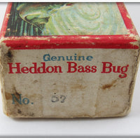 Heddon Ozark Ripley #57 Bass Bug In Box