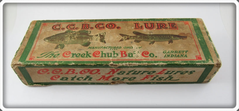 Creek Chub Goldfish Snook Pikie Lure Empty Box 3406 Special