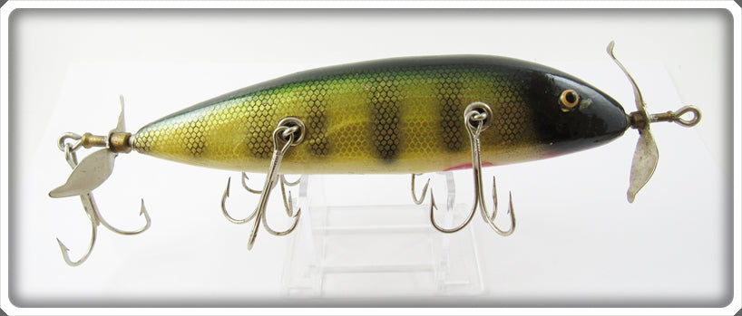 Vintage Creek Chub Prototype Giant Five Hook Minnow Lure