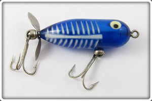 Heddon Cobalt Blue & White Shore Tiny Torpedo 360XBLW Lure