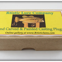 Rtistic Lure Company Rich Brooks Bass Popper In Box