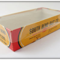 South Bend Red & White Go Plunk In Correct Box