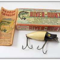 Heddon Spook Ray Black & Yellow River Runt Lure 9110-SR-XBY Standard