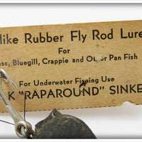 P & K Lifelike Rubber Fly Rod Mouse On Card