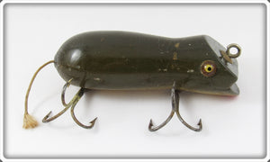 Vintage Shakespeare Grey Swimming Mouse Lure