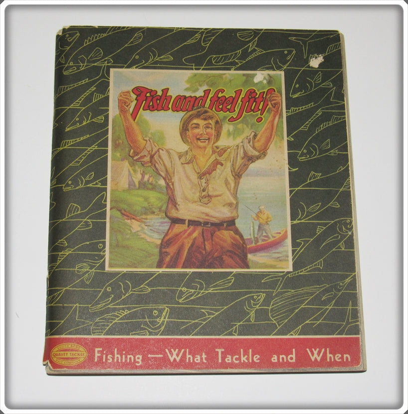 Vintage 1937 South Bend Fishing What Tackle And When Catalog