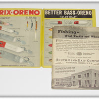 1937 South Bend Fishing What Tackle And When Catalog