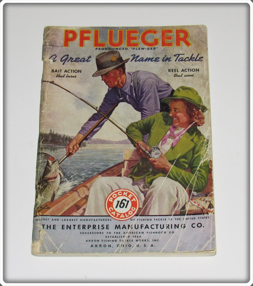 Vintage 1941 Pflueger A Great Name In Tackle Catalog