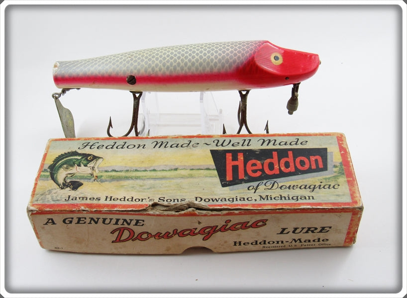 Heddon Allen Stripey Musky Flaptail In Correct Box 7050 PAS