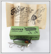 Vintage Hom Arts Bait Co Green Scale Skipper Lure In Box