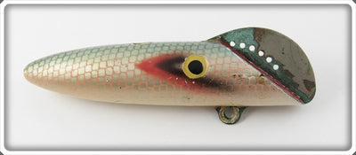 Vintage Shoff Blue Herring Finish Salmon Plug Lure