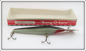 Vintage Bagley Eel Skin Finish Bang O Lure Go Devil #5 In Box