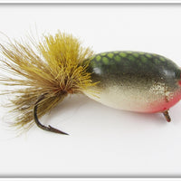 Shakespeare/Isle Royale Green Scale Balsa Bug Fly Rod Lure
