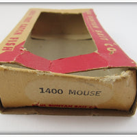 Paul Bunyan 1400 Flocked Mouse In Box