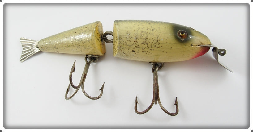Vintage Creek Chub Silver Flash Musky Wigglefish Lure