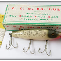 Creek Chub Silver Flash Striper Pikie Lure In Box 6918