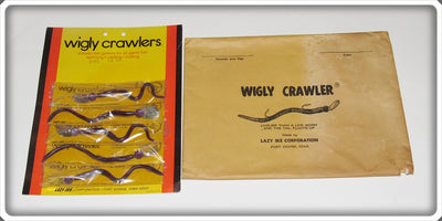 Vintage Lazy Ike Corporation Wigly Crawlers On Dealer Card & Envelope