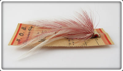 Weber Parma Belle H.O.B. Streamer Fly Rod Lure On Card