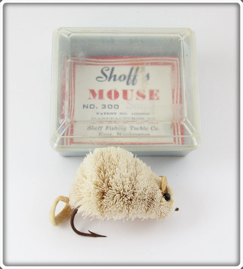 Vintage Vintage Shoff's Mouse Fly Rod Lure In Box With Insert