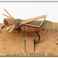 Alkan Tackle Co Palmer Grasshopper On Card