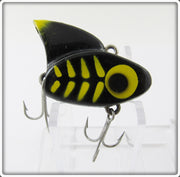 Vintage Lazy Ike Black & Yellow Sail Shark Lure