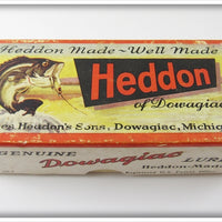 Vintage Heddon Assorted Fly Rod Lures Empty Box 33-70 ASS'T