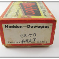 Heddon Assorted Fly Rod Lures Empty Box
