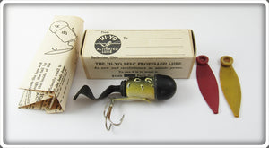 Vintage Hi Yo Bullfrog Activated Lure In Box