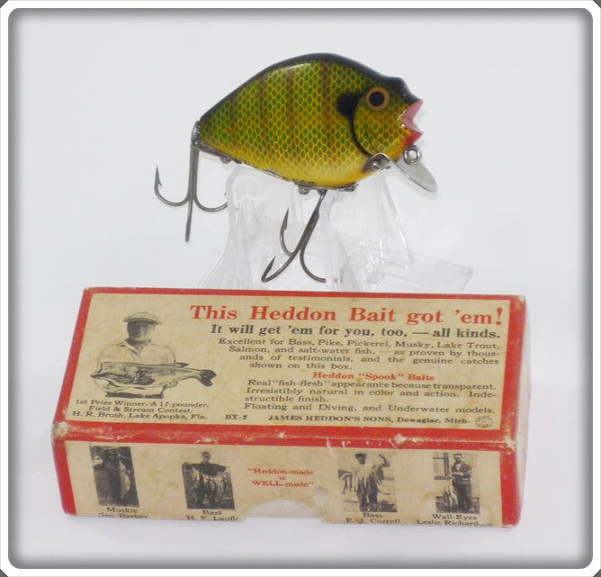 Heddon Perch 740 PCH Punkinseed In Correct Box