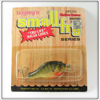 Vintage Bagley Shallow Runner Small Fry Bream Lure On Card