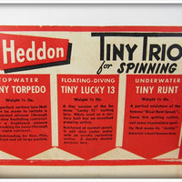 Heddon Tiny Trio For Spinning Pack