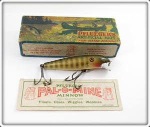 Pflueger Natural Pike Scale Palomine In Correct Box