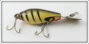 Vintage Smithwick Black & White Striper Rooter Jr Lure