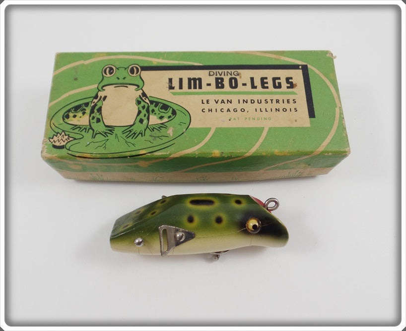 Le Van Industries Lim-Bo-Legs Frog Lure In Correct Box