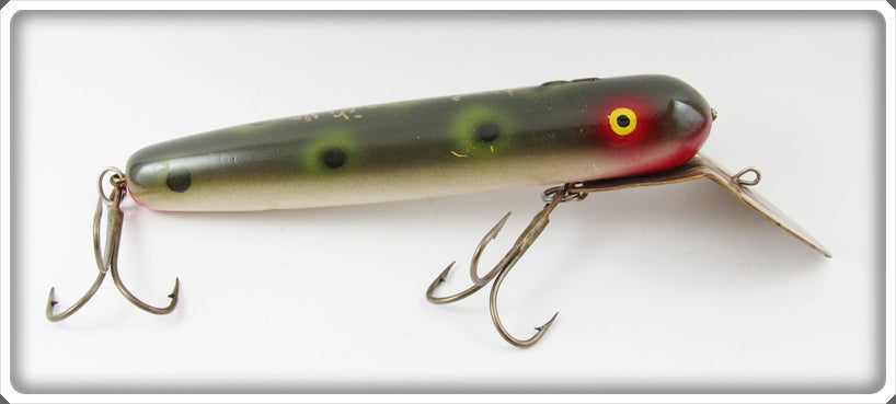 Vintage Ed Latiano Frog Spot Musky Cisco Kid Type Lure