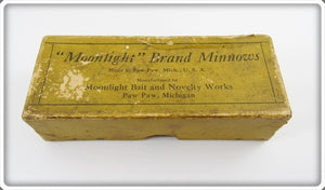 Moonlight Brand Minnows Empty Box