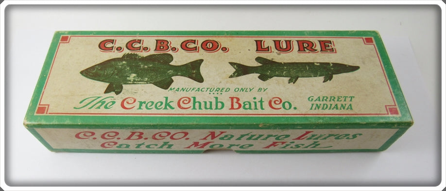 Creek Chub Empty Box For Blue Flash Snook Plunker Lure 7134 BT