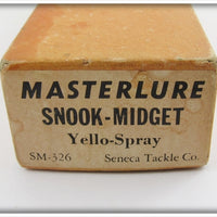 Masterlure Seneca Tackle Co Yello-Spray Snook Midget In Correct Box