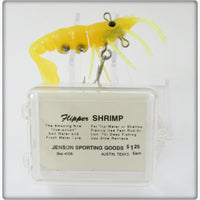 Jenson Sporting Goods Canary Yellow Flipper Shrimp In Box