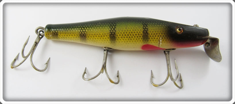 Vintage Creek Chub Perch Surfster Lure 7201