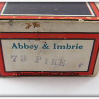 Heddon Abbey & Imbrie Pike Scale Jointed Vamp In Box