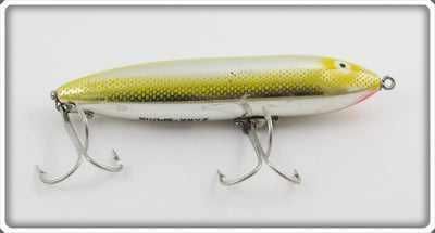 Heddon NPY Yellow Chrome Zara Spook 9250