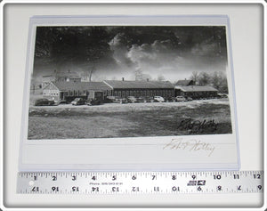 Photograph Of The Millsite Factory Signed By Robert Withey
